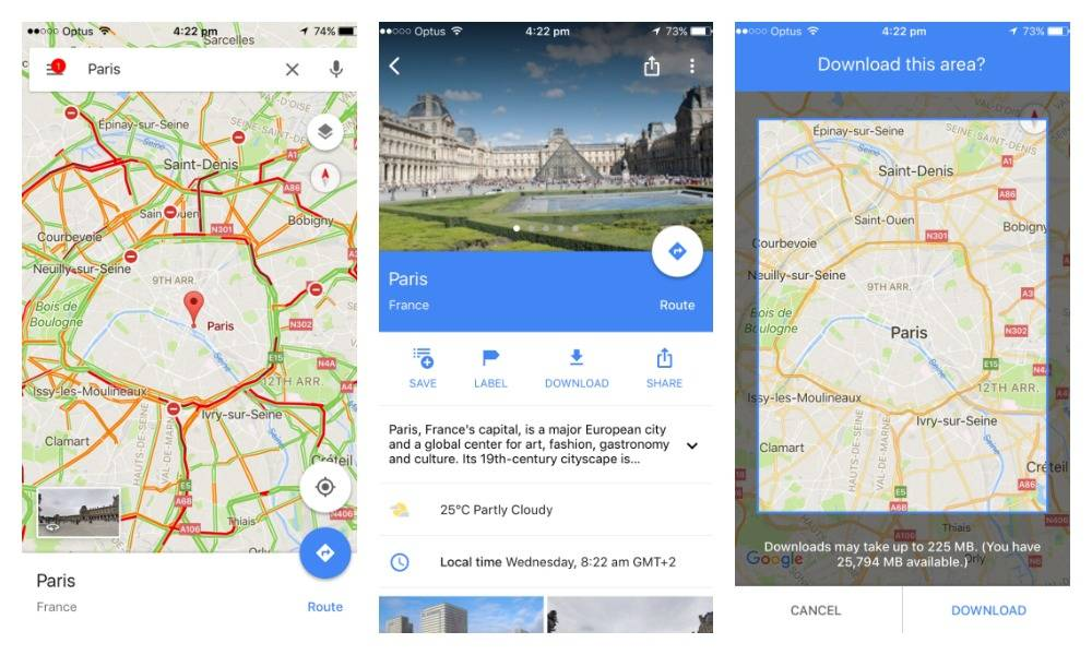 How to use maps apps without an internet connection - Travel