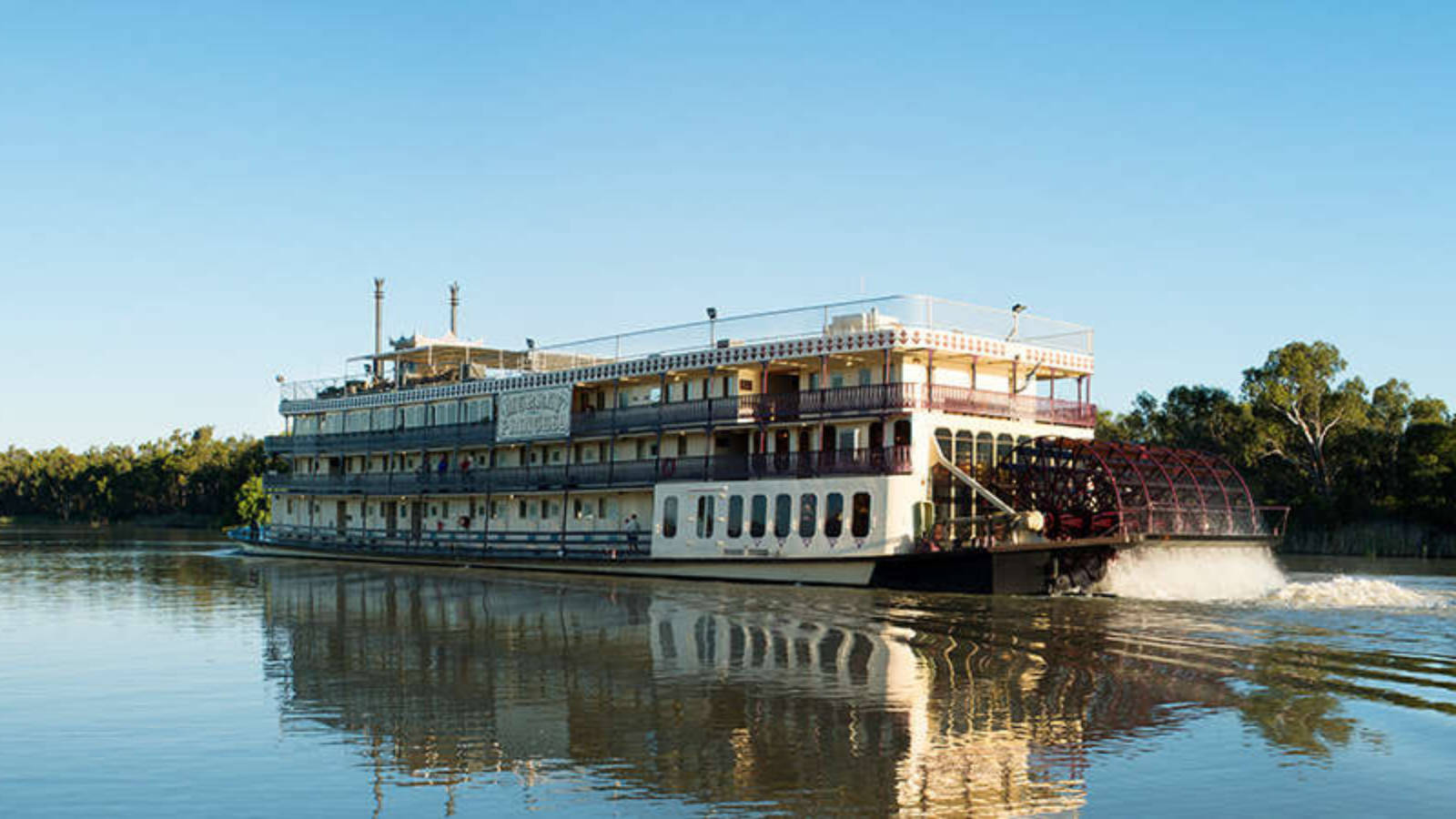 3 night murray river cruise captain cook cruises - HD 1600×900