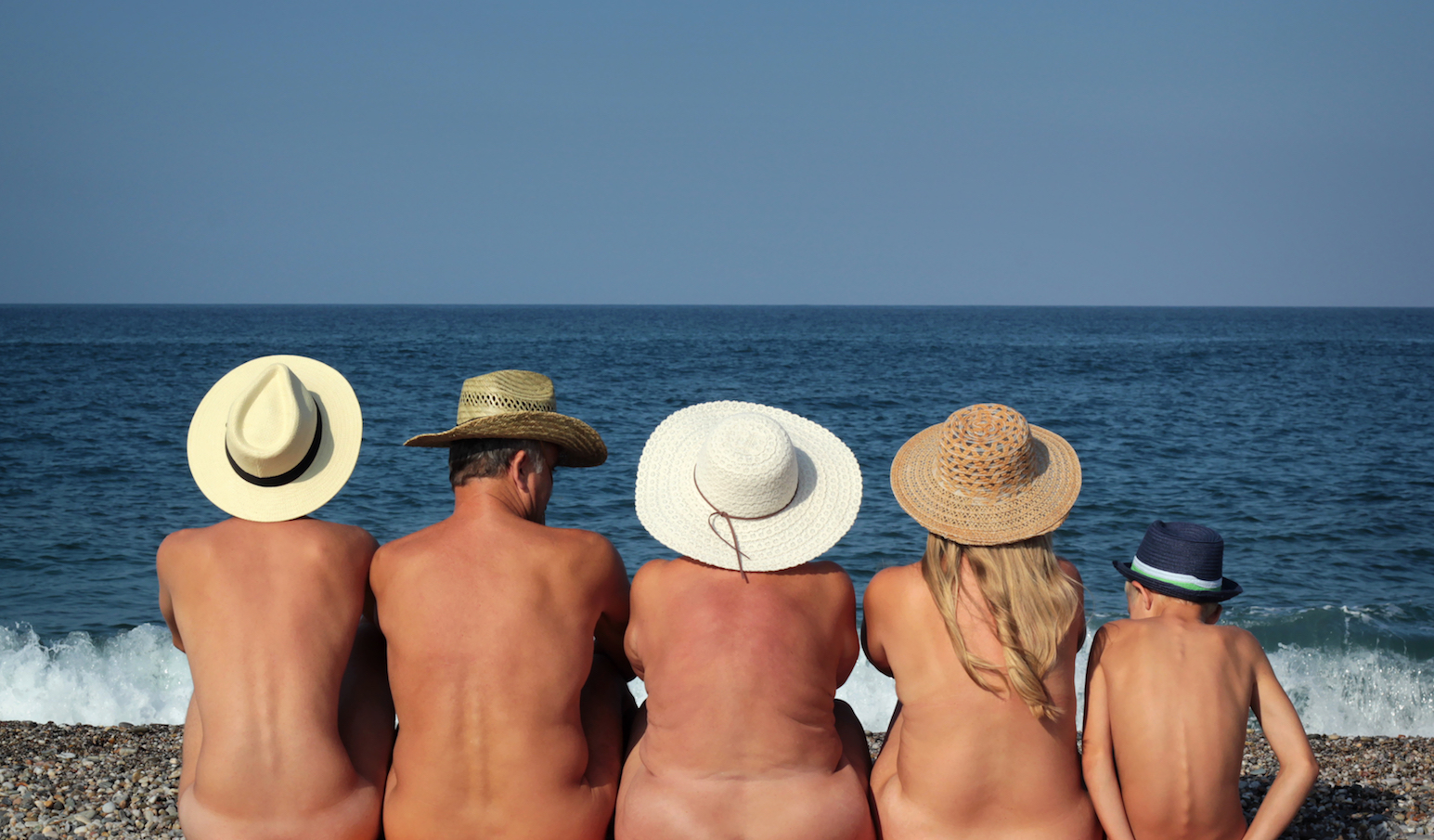 Australia beach nudist