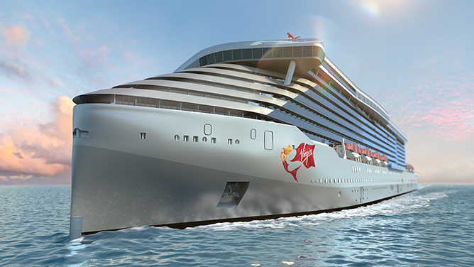 Here's what Virgin's first adults-only cruise ship will look like